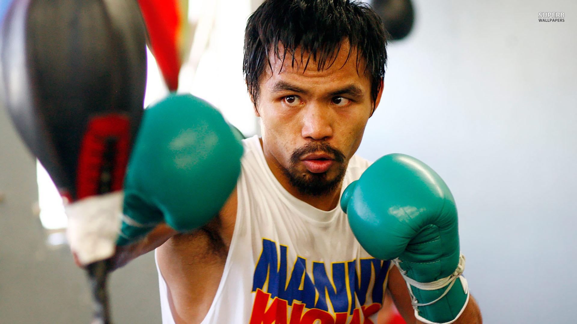 Pacquiao reitera deseo de enfrentar a Mayweather