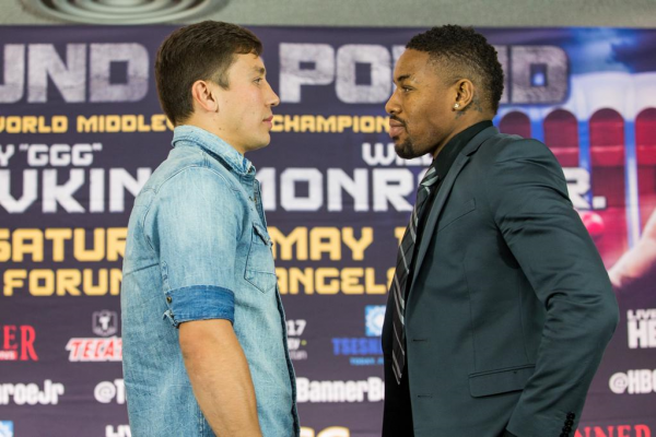 Enfocado Golovkin en Monroe Jr.