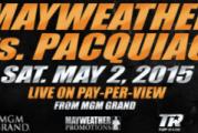 """Mayweather vs Pacquiao presentaron en LA """"La pelea del siglo"""""""