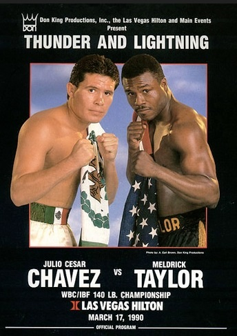 Taylor-Chávez , 25 años de emociones y controversia