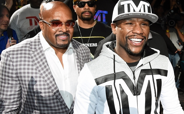 """Mayweather: """"Soy el hombre intocable"""""""