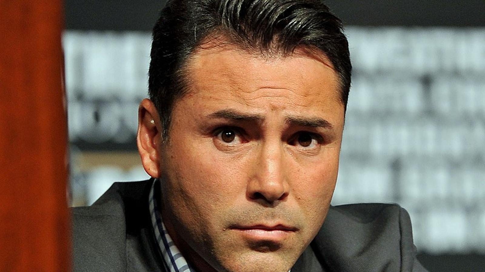 De La Hoya dice que decidió no volver a pelear