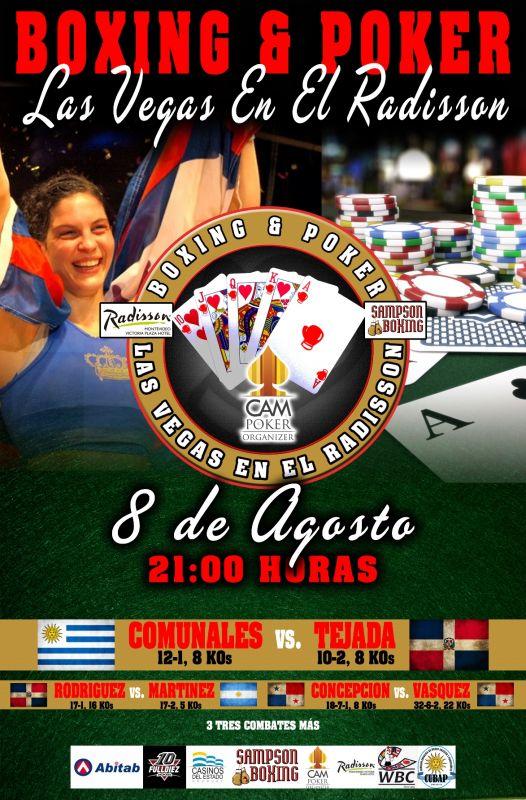Panameños «El Torito» y «La Araña» en mega evento en Uruguay