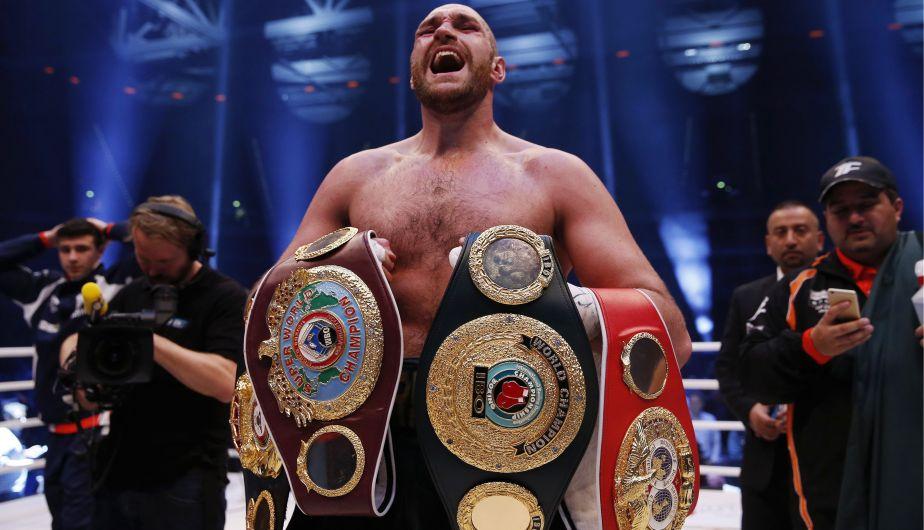 Tyson Fury derrotó a Wladimir Klitschko y acabó con su reinado de 9 años