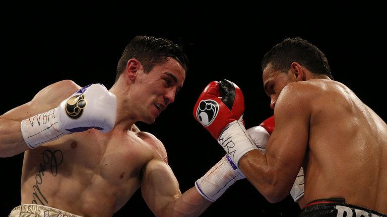 El colombiano Darley Pérez perdió su título mundial ante Anthony Crolla