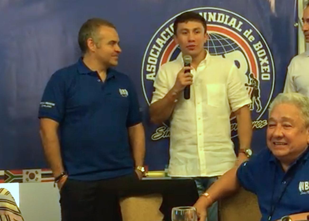 Gennady Golovkin dijo presente en la 94° Convención de la AMB en Panamá