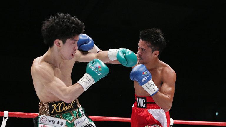 Japonés Tanaka vence por KO6 a filipino Saludar y retiene mínimo OMB
