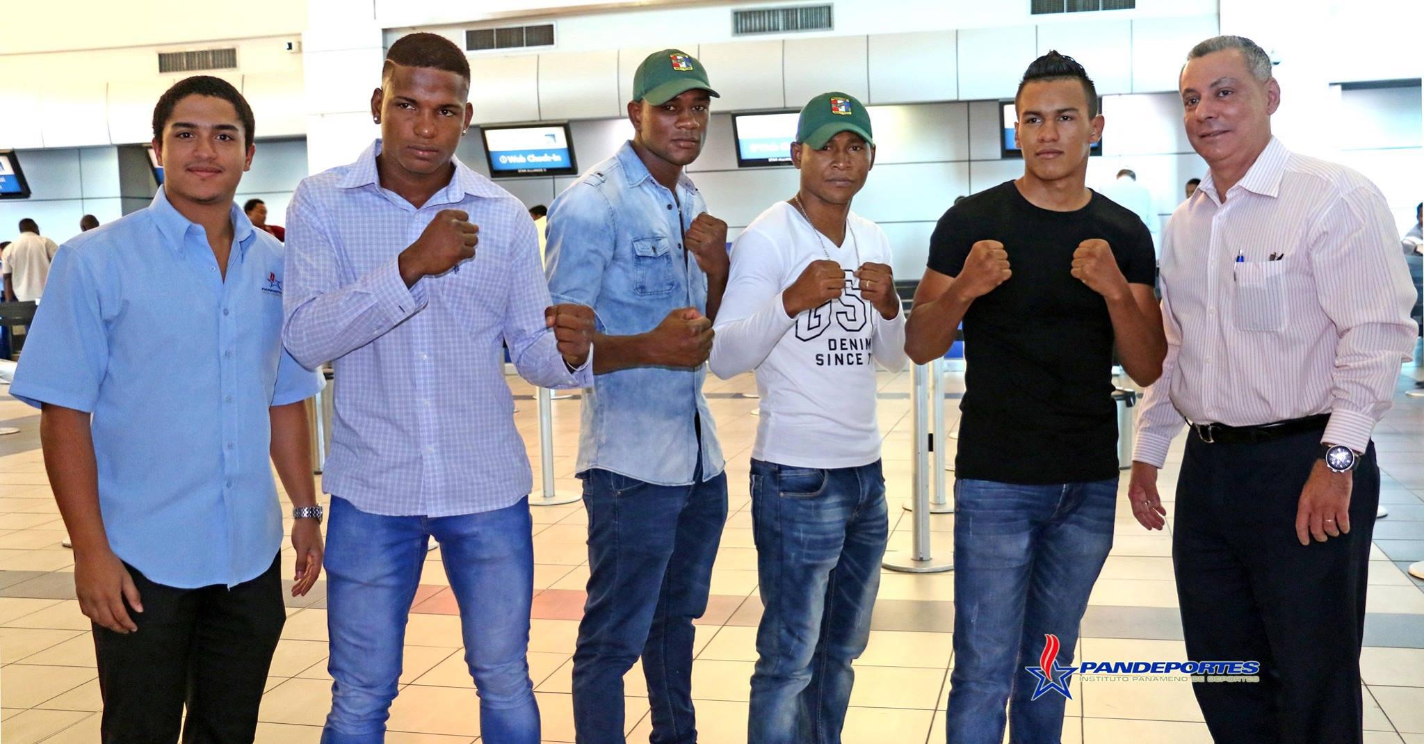 Cinco boxeadores panameños a centro de alto rendimiento en México