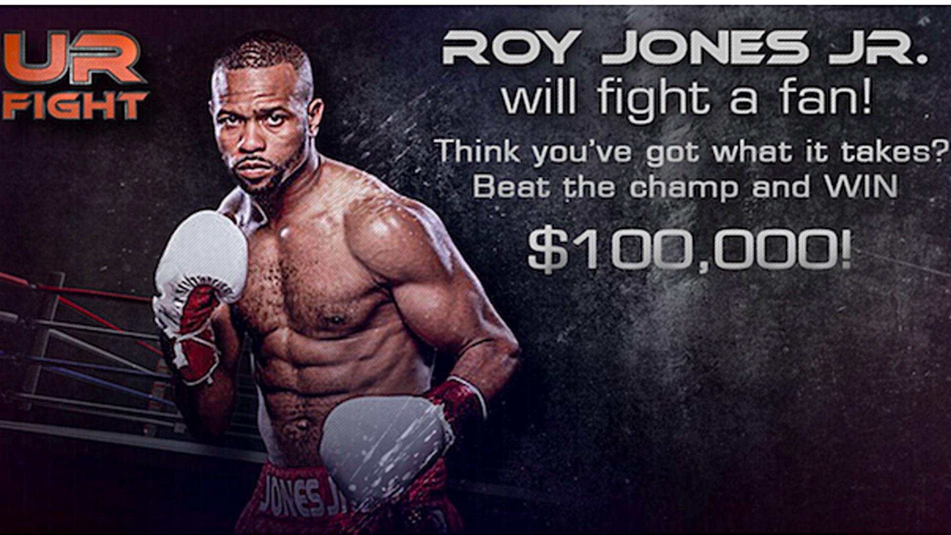 Roy Jones Jr. peleará ante un fanático por cien mil dólares