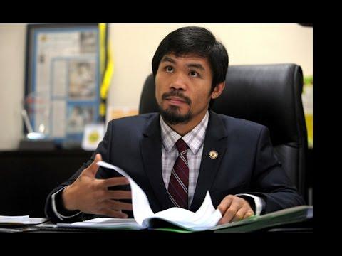 Manny Pacquiao tiene casi asegurada elección como senador en Filipinas