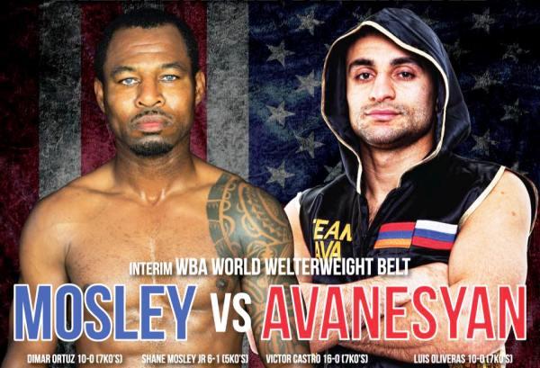Presentaron combate Avanesyan vs. Mosley en conferencia