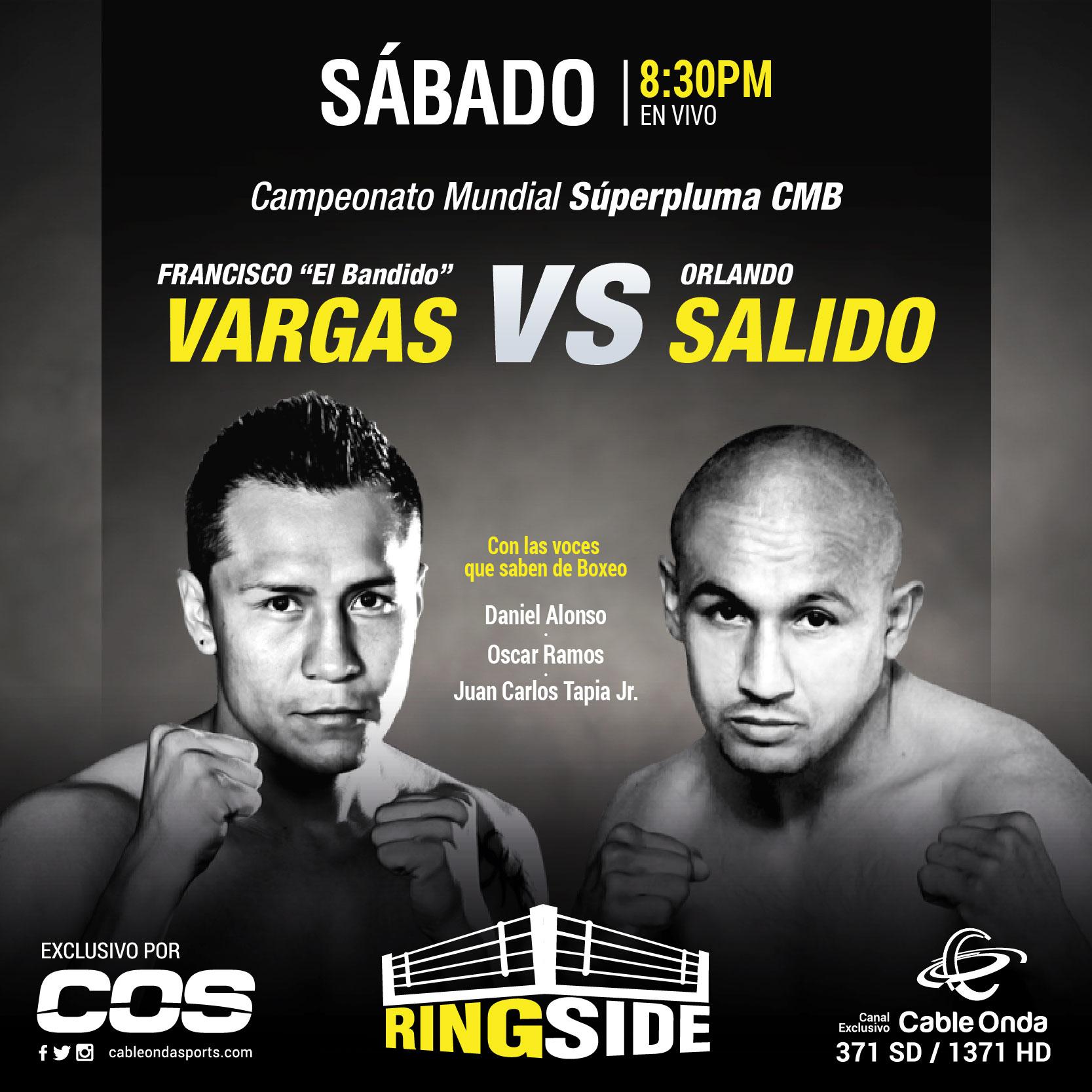 Fin de semana de boxeo por Ringside en Cable Onda Sports