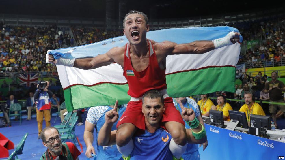 Uzbekistán arrebata a Cuba la corona del boxeo olímpico