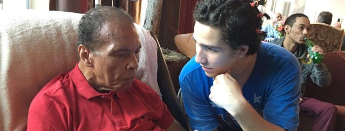 Nieto de Muhammad Ali comienza su carrera como boxeador amateur