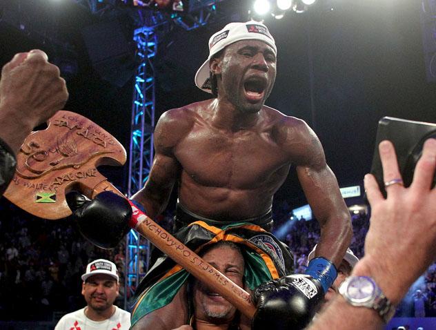 Walters, jamaicano radicado en Panamá, por el campeonato ante Lomachenko