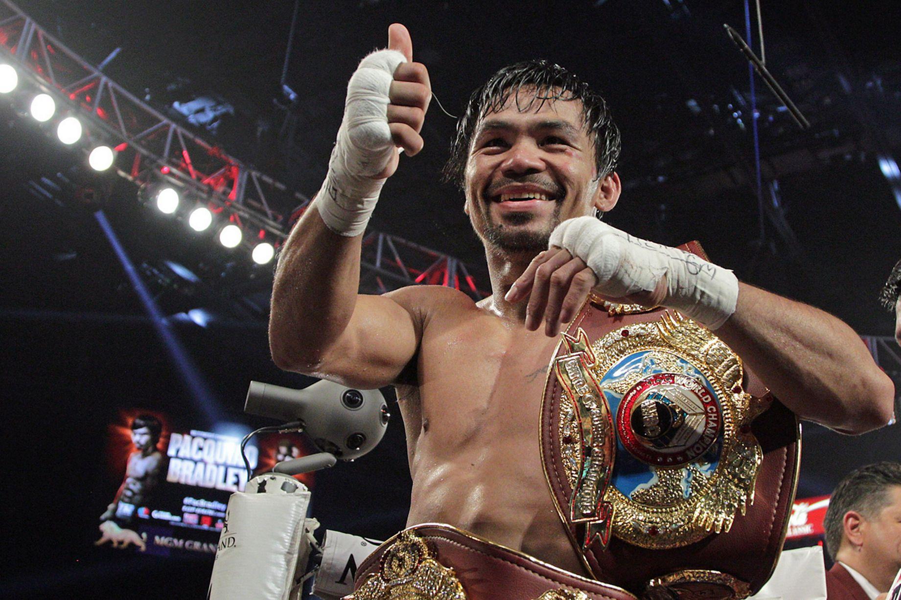 Pacquiao vuelve a hacer historia al vencer a Vargas