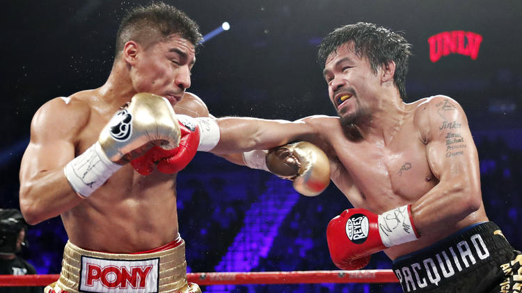 Suenan próximos rivales para enfrentar a Manny Pacquiao