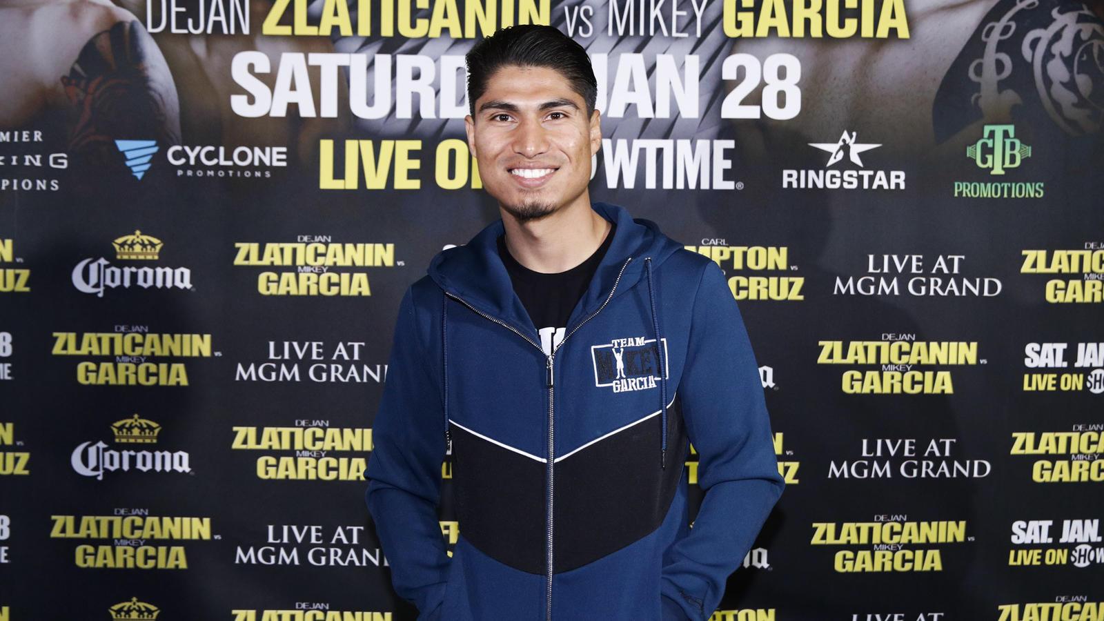 Mikey García va por un nuevo título en Las Vegas