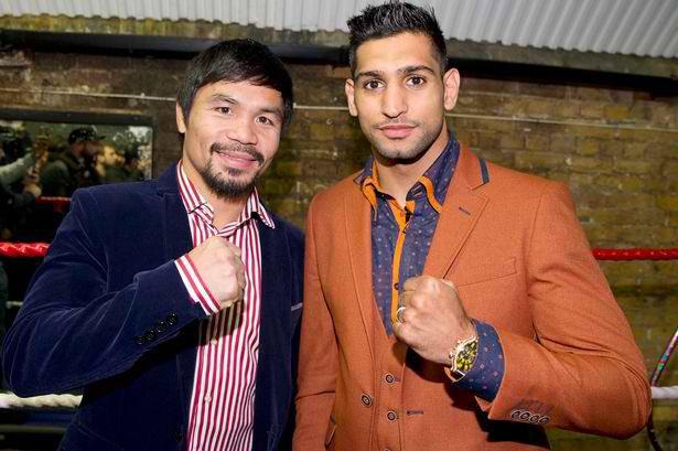 Manny Pacquiao está negociando una pelea con Amir Khan