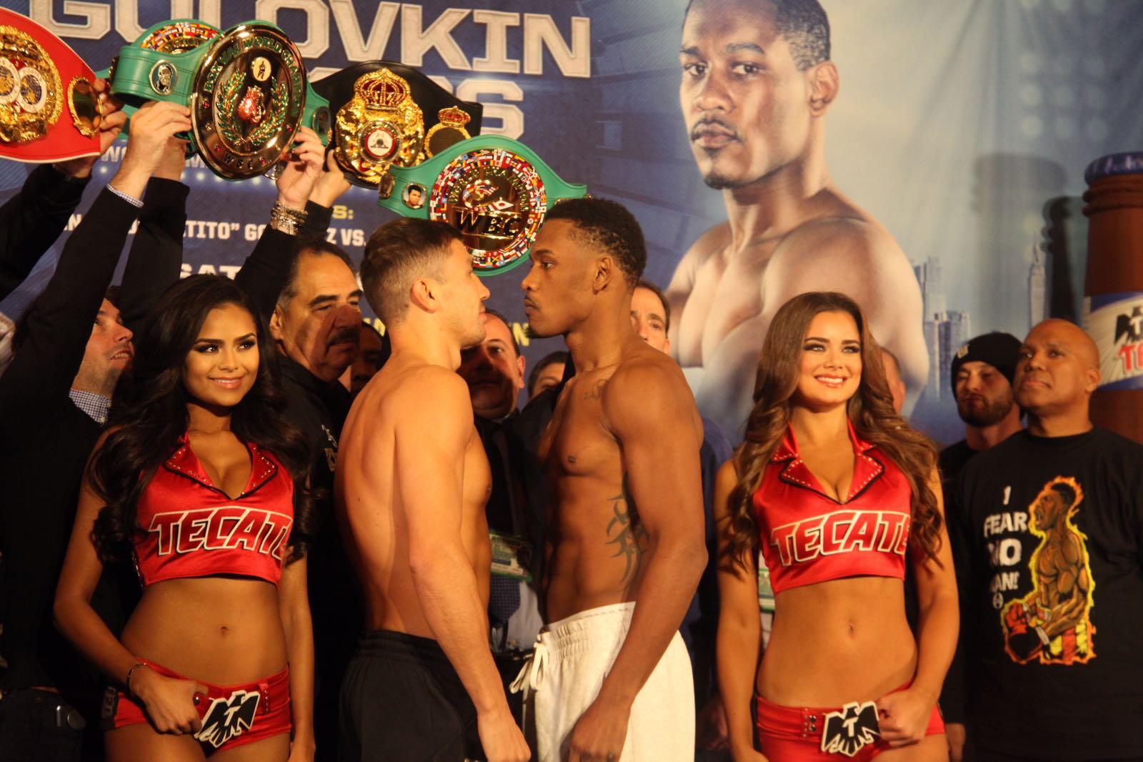 Golovkin y Jacobs listos para demostrar quien es el mejor