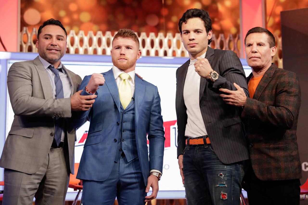 Agotados los boletos para la pelea 'Canelo'-Chávez Jr