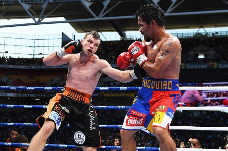 ¡Histórico! Jeff Horn vence a Manny Pacquiao y le arrebata campeonato mundial