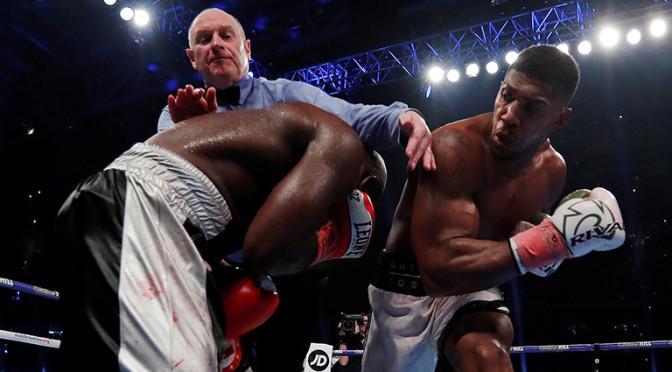 Anthony Joshua, 20 combates y 20 victorias por KO