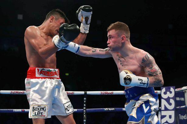 Frampton derrotó al «violento» García en Belfast