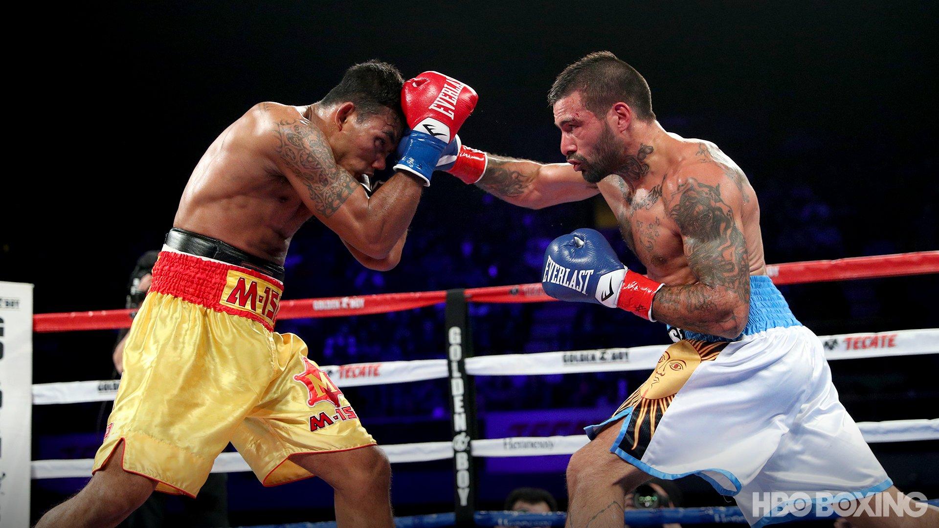 Lucas Matthysse venció al tailandés Tewa Kiram y, a los 35 años, volvió a la gloria