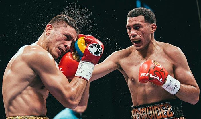 Benavidez dominó a Gavril para retener corona en Las Vegas