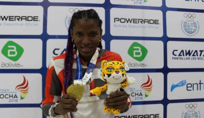 Panameña Atheyna Bylon consigue medalla de oro en Sudamericanos