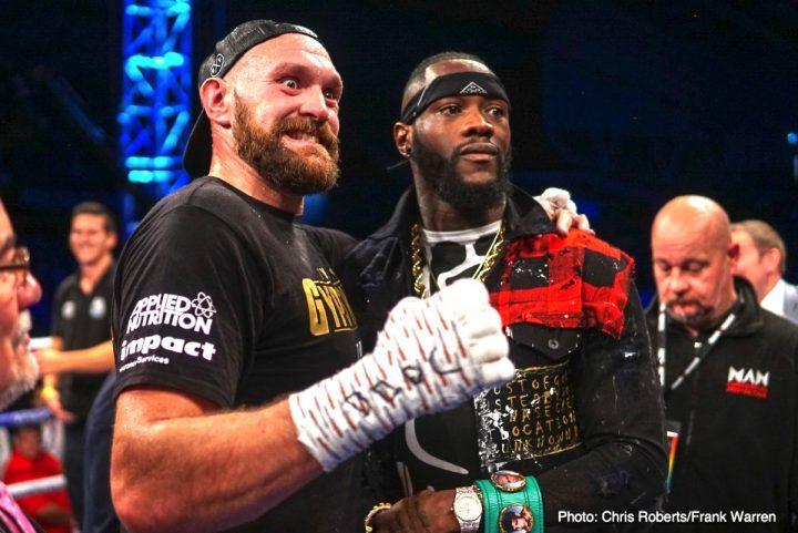 Anuncian Wilder-Fury tras victoria de Tyson en Irlanda