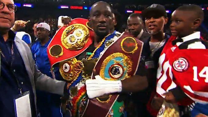 El mejor boxeador del mundo, Terence Crawford, pelea mañana por LMB