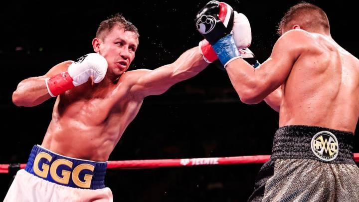 Gennady Golovkin sufre pero derrota a un valiente Sergiy Derevyanchenko y es nuevamente el campeón