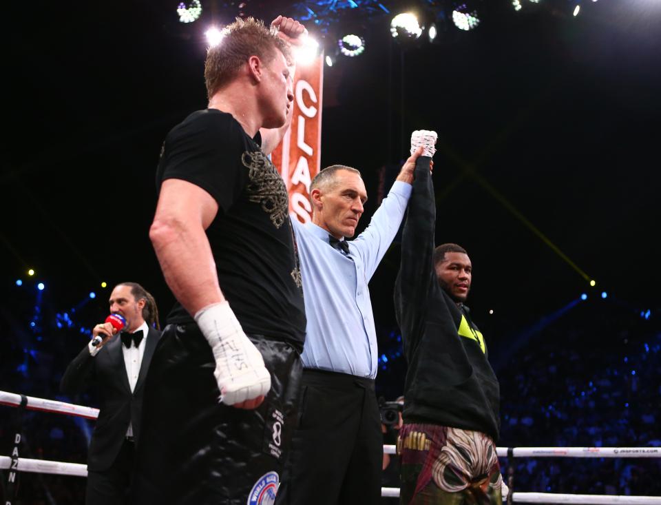 Povetkin y Hunter empatan; más resultados desde Arabia Saudita