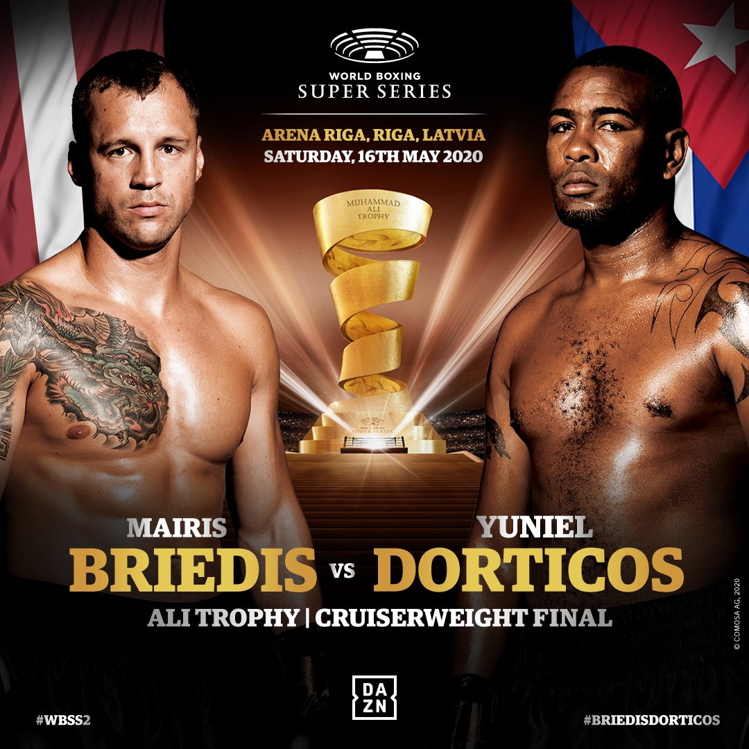 Briedis vs Dorticos aplazado hasta el 16 de mayo por el coronavirus