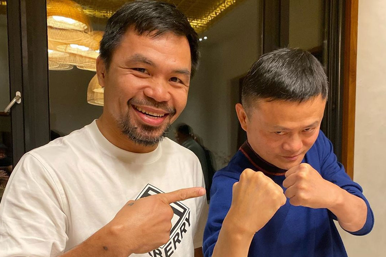 Manny Pacquiao dona 50 mil kits para detectar coronavirus a Filipinas
