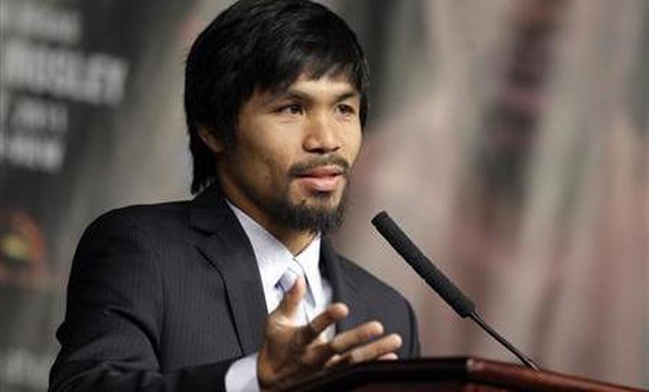 Manny Pacquiao va por la presidencia filipina en 2022