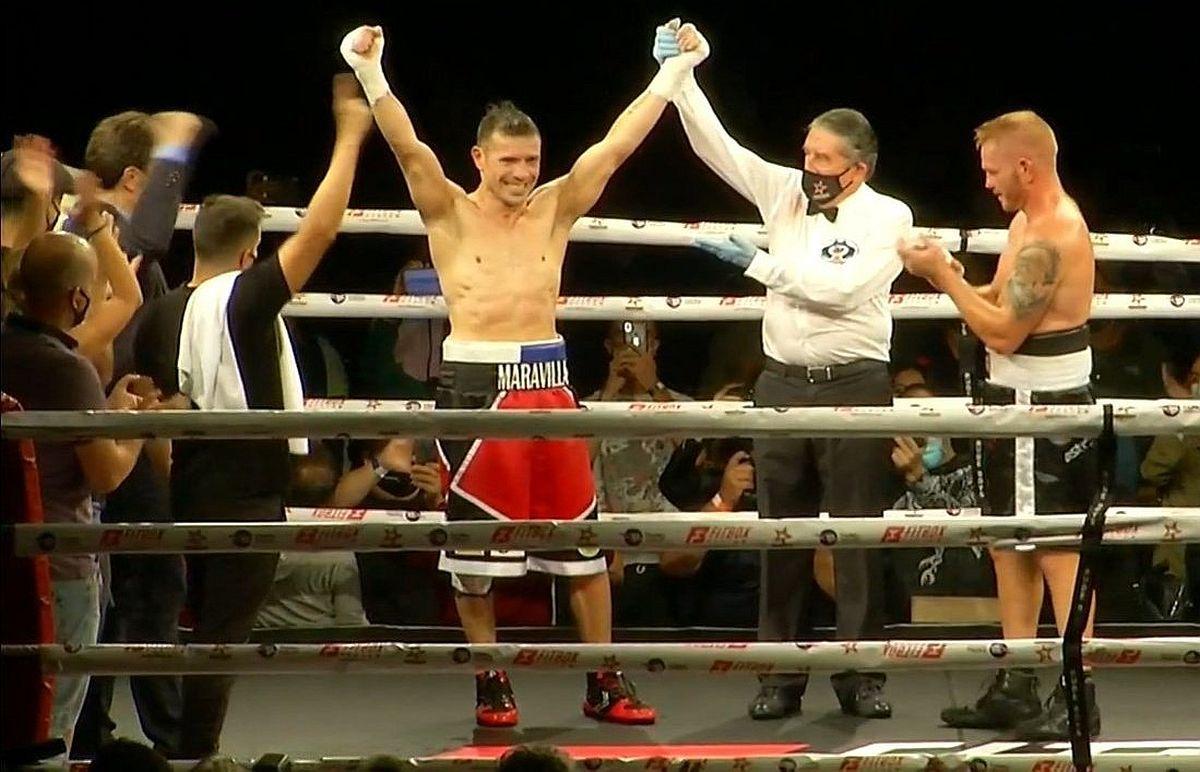 Sergio Martínez detiene a Fandino en el séptimo round en pelea de regreso