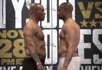 Tyson y Jones suben a la báscula
