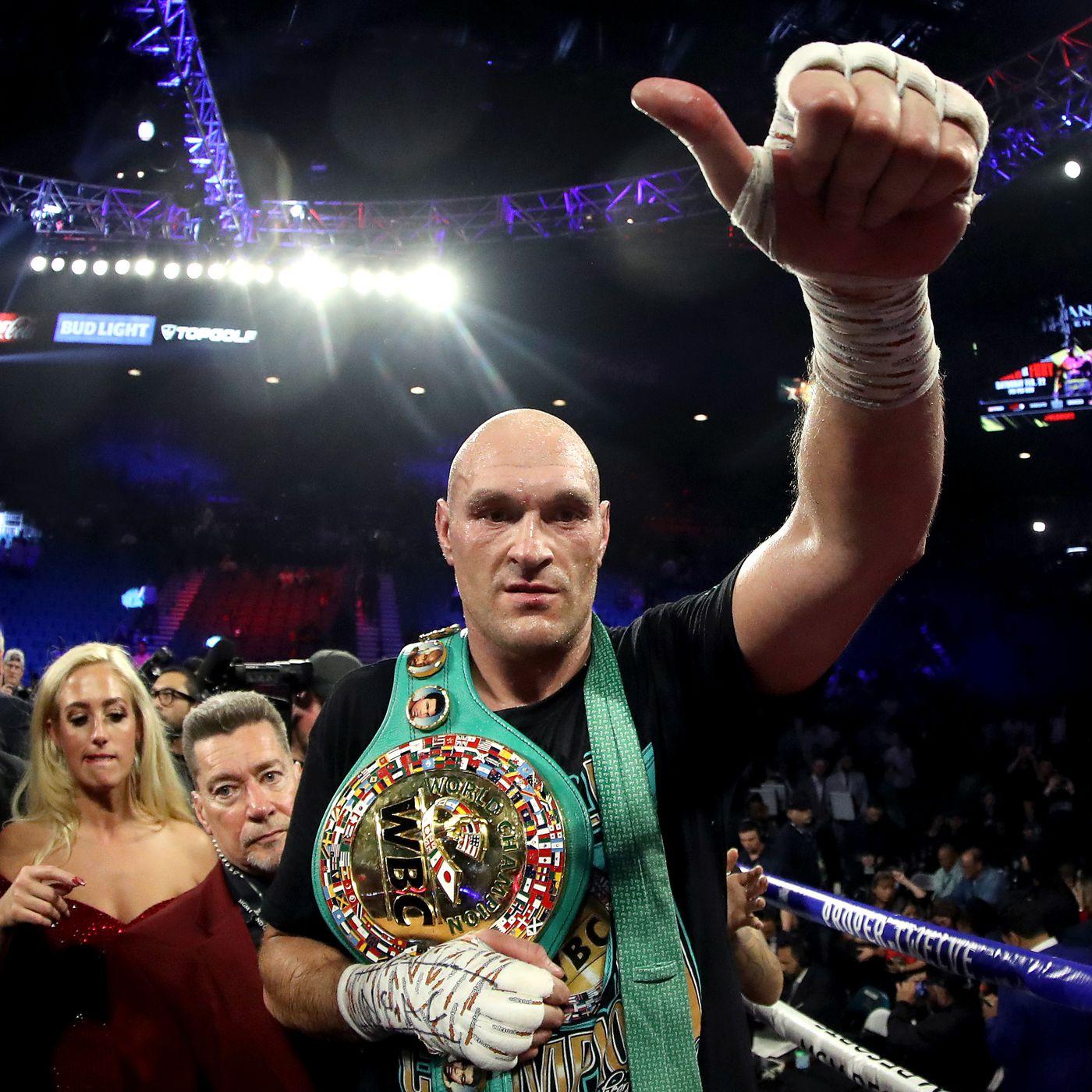 Tyson Fury: Anthony Joshua está 'hecho a la medida' para mí