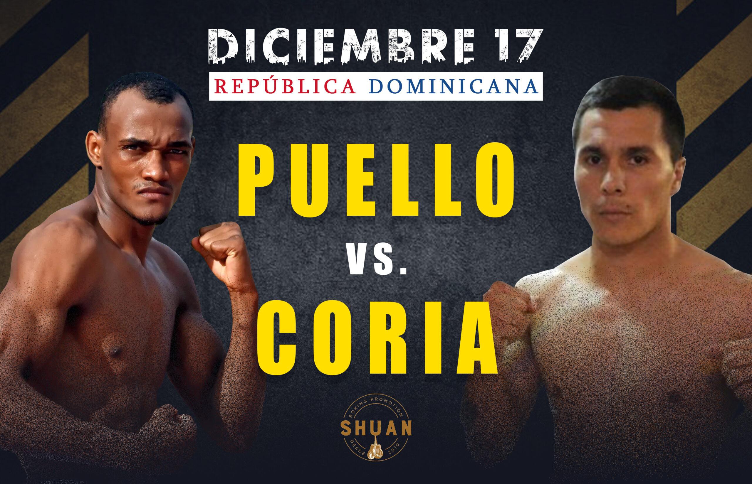 «La Avispa» Puello destruyó a Cristian Coria en seis asaltos