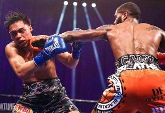 Stephen Fulton vence a Angelo Leo en buena pelea, gana el título de la OMB