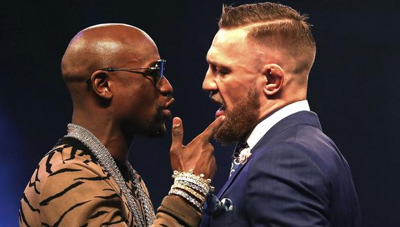 Mayweather critica el deseo de boxear de McGregor: Conor ni siquiera puede ganar en su propio deporte