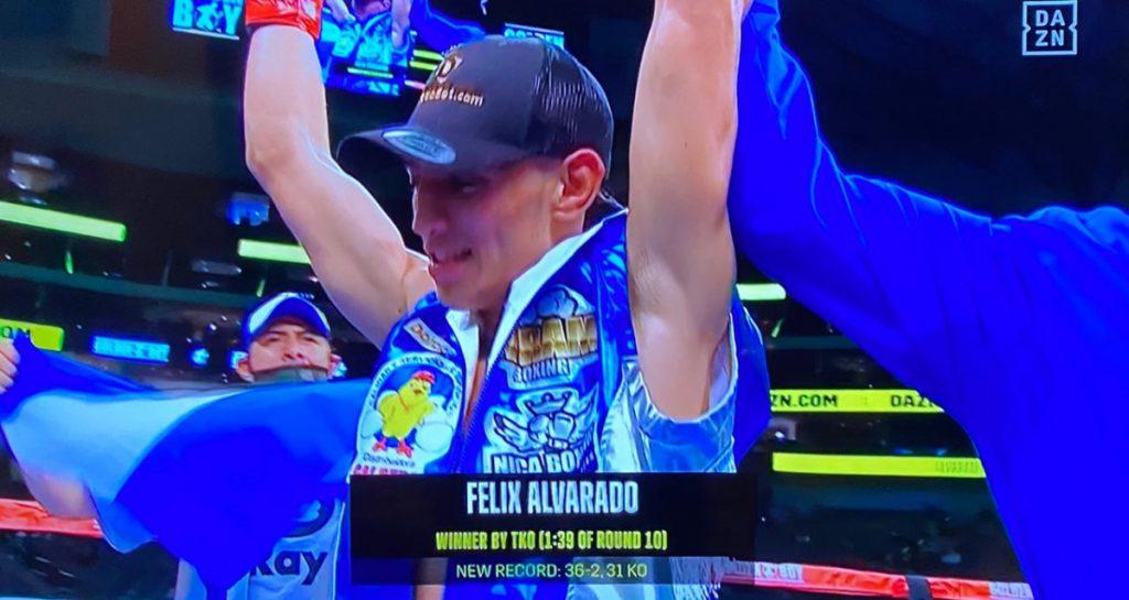 Felix Alvarado detiene a Deejay Kriel en décimo
