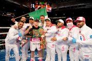 Canelo Álvarez derrota a Avni Yildirim en pelea por los títulos súper medianos