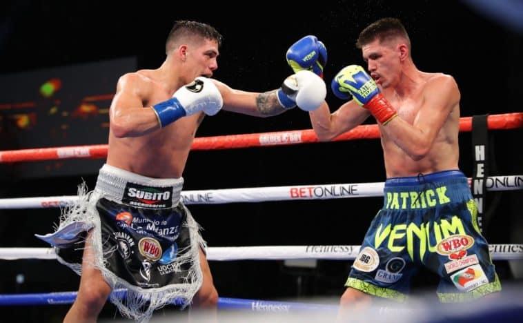 Castaño destrona a Teixeira por el título de 154 lbs de la OMB