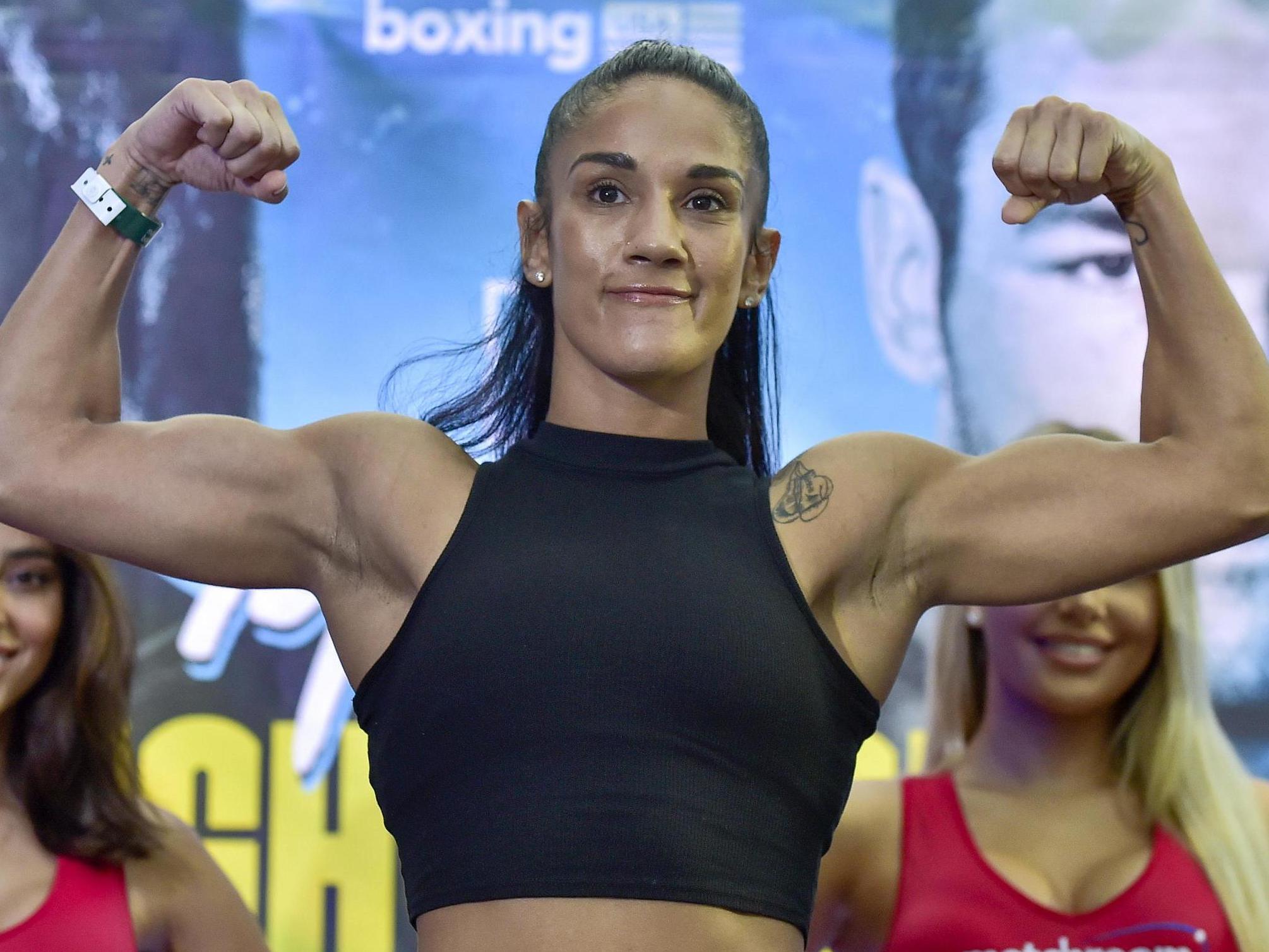Contundente triunfo de Amanda Serrano sobre «La Bonita» Bermúdez