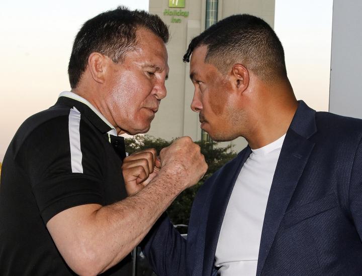 Chávez Sr. y Camacho Jr.  cara a cara en Guadalajara