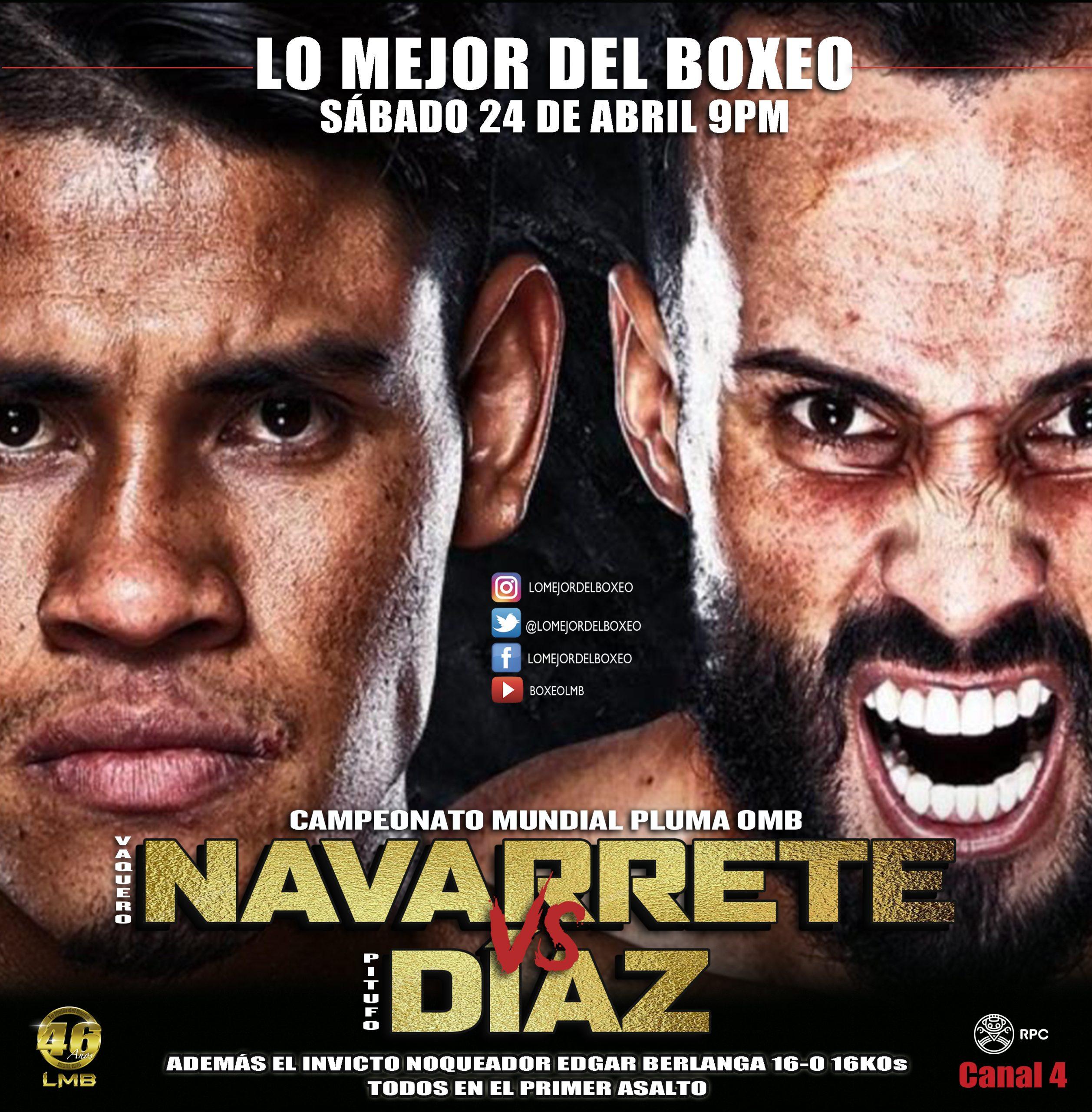 Emmanuel Navarrete vs. Christopher Díaz: Análisis y predicción de la pelea